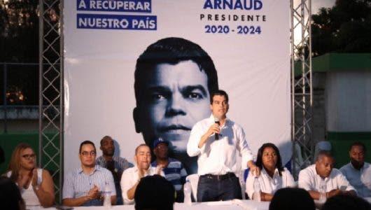 Wellington Arnaud afirma levanta esperanza del 50% de indecisos en PRM