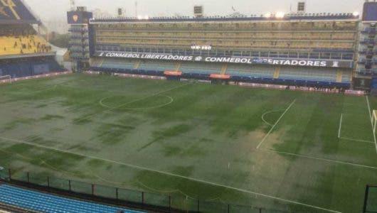 Conmebol confirma que el Boca-River se disputa a pesar de la tormenta