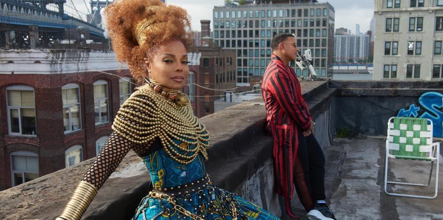 """Daddy Yankee y Janet Jackson lanzan versión en castellano de """"Made For Now»"""