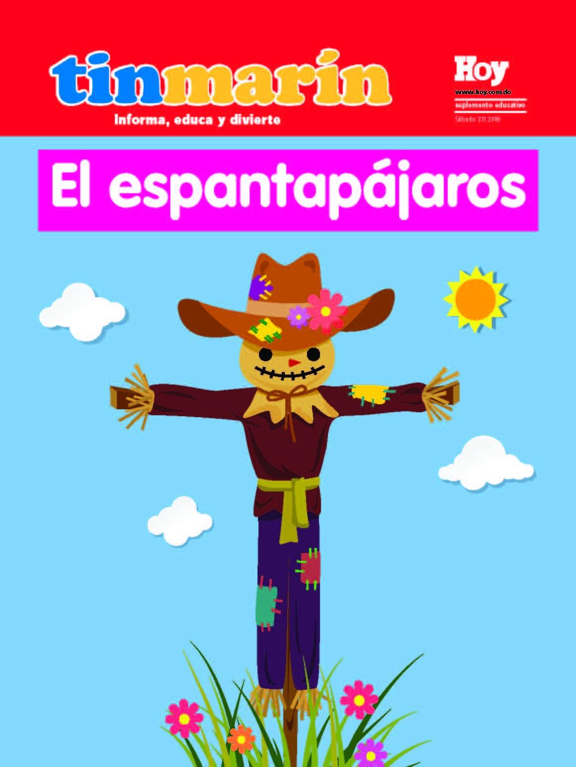 portada Tinmarín, sábado 03 de noviembre, 2018