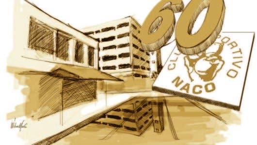 Los 60 años del club  deportivo Naco