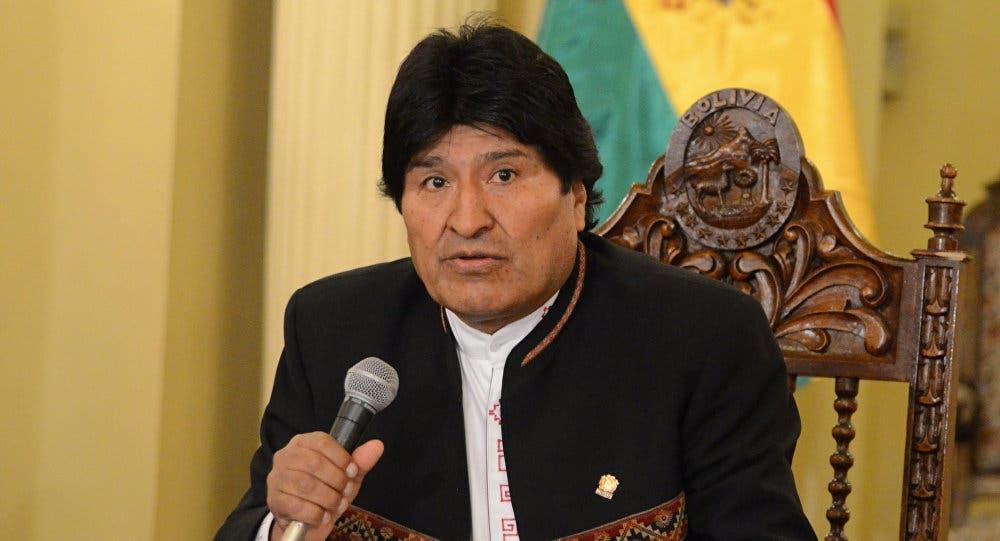 Evo Morales pide que EEUU se retire también de Irak y Afganistán