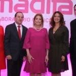Rostros. Amadita 59. PRINCIPAL - Jackeline González, Carlos Robledo Restrepo, Patricia González de Bergés, Jacqueline Martínez y Gabriel Grau