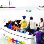 El Pais. La Romana. Playa de Bayahibe. Zona de Embarque para la isla Saona. Hoy/ Jorge Gonzalez. 7.02.2009