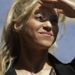 FILE - In this March 28, 2017 file photo, Colombian singer Shakira looks on during a charity event at the Camp Nou stadium in Barcelona, Spain. Spanish prosecutors are charging pop music star Shakira with tax evasion, alleging she defrauded the treasury of more than 14.5 million euros (16.3 million dollars) between 2012 and 2014. (AP Photo/Manu Fernandez, File)