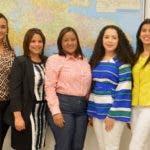 Esquina Jovem semanal del periódico Hoy, con Jóvenes representantes de la UNFPA, ello se dedican a trabajar con adolecentes para evitar embarazos, se realizó en el salón de actividades del periódico hoy. Foto/ Napoleón Marte 05/12/2018