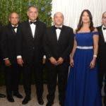 Rostros. Cena de gala por el 60 aniversario del Club Naco Santo Domingo.