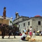 Turistas en la Zona Colonial. El Nacional/ Jorge Gonzalez