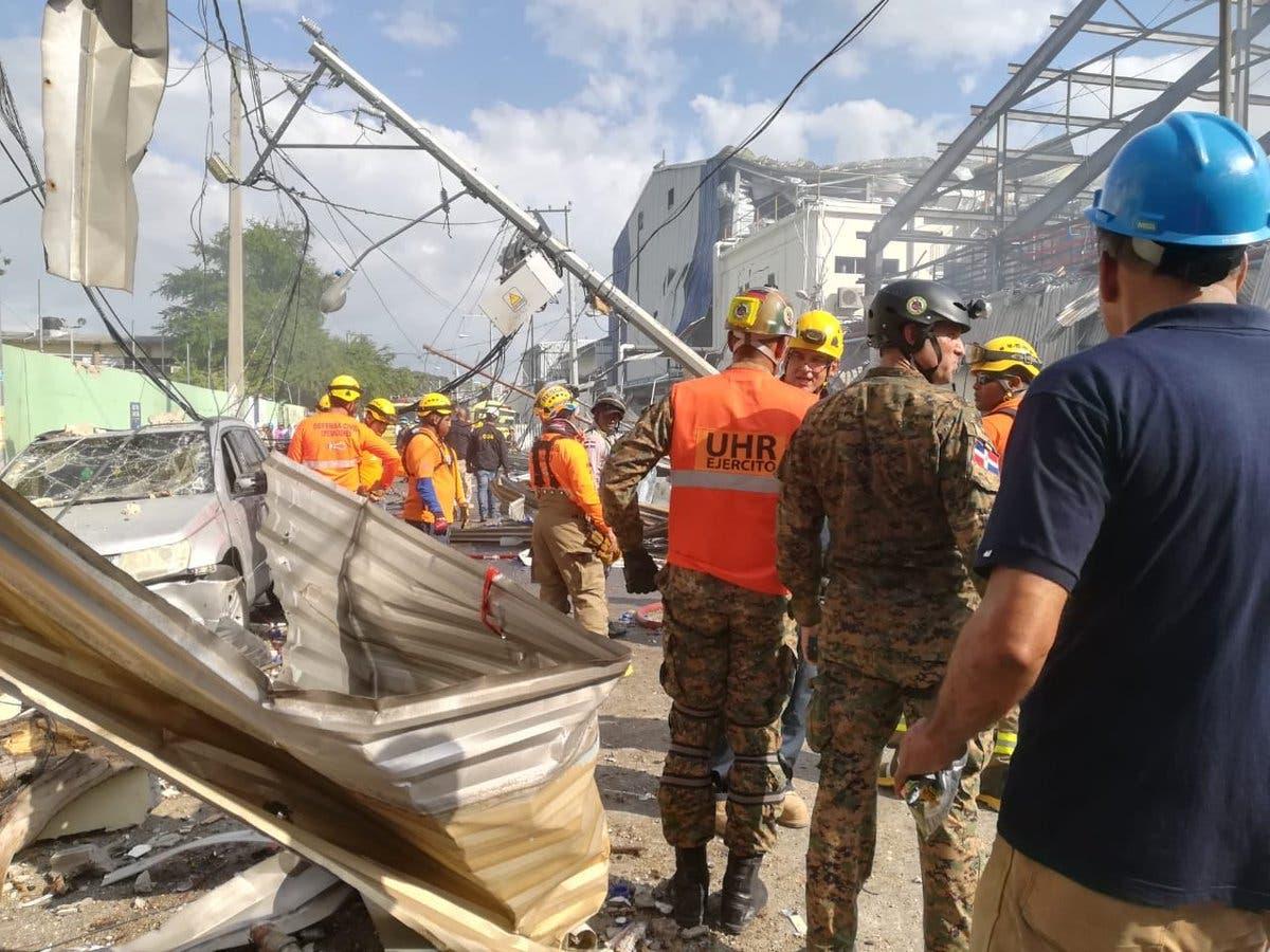 Vea en fotos y video cómo amanece zona de Polyplas tras explosión que dejó al menos cuatro y 45 heridos