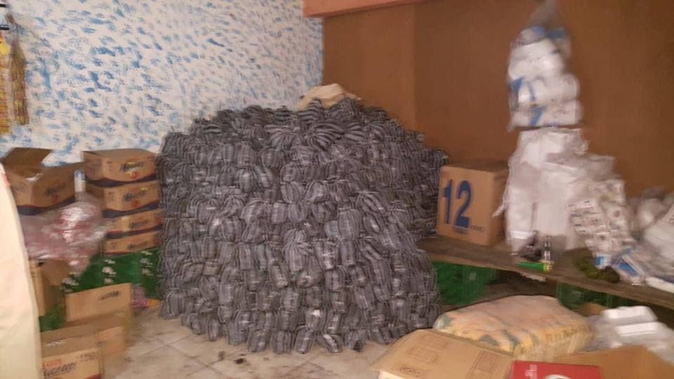 Incautan más de 1000 fundas de carbón en La Romana