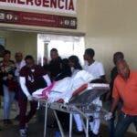 Recorrido de las Emergencia de los hospitales, por el asueto del 24  de diciembre se observo las  Emergencia del Darío Contreras y El Neis Arias los familiares y heridos. En foto : los pacientes HOY Duany Nuñez 25-12-2018