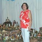 Visita a la Casa de la Señora Rosa María Peralta, quien lleva 15 años amando nacimientos de diferentes países .  Hoy/ Arlenis Castillo/10/12/18.