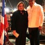 Rostros. Con motivo de su 66vo. aniversario, el Cuerpo Consularacreditado en la República Dominicana realizó una ofrenda floral en el Altar de la Patria y posteriormente un coctel en el Buque Escuela Juan Bautista Cambiaso, en SansSouci.