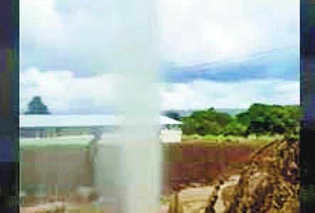 El gas de Villa Tapia es inflamable; determinarán origen
