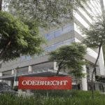 FILE - This April 12, 2018 file photo shows the Odebrecht headquarters in Sao Paulo, Brazil. Peru's prosecutor's office announced on Thursday, Aug. 2, 2018 that the country is restoring cooperation with the Brazilian construction company in order to continue with local corruption investigations, and that it will not open any new investigations against the company.  (AP Photo/Andre Penner, File)