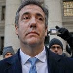 FILE - In this Nov. 29, 2018, file photo, Michael Cohen walks out of federal court in New York. The moment of reckoning has nearly arrived for Cohen, who finds out Wednesday, Dec. 12, whether his decision to walk away from President Donald Trump after years of unwavering loyalty will spare him from a harsh prison sentence. (AP Photo/Julie Jacobson, File)