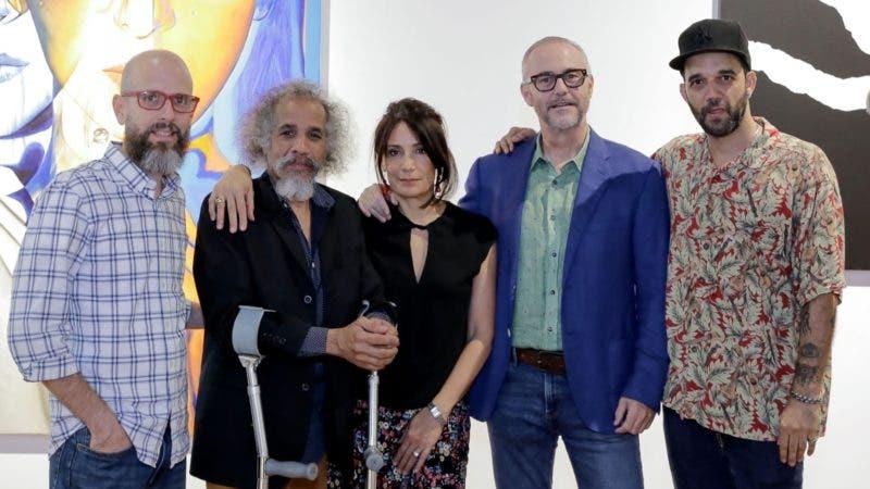 Rostros. LOR. Gerard Ellis, Juan Mayi, Inés Tolentino, Lyle O. Reitzel y Gustavo Peña