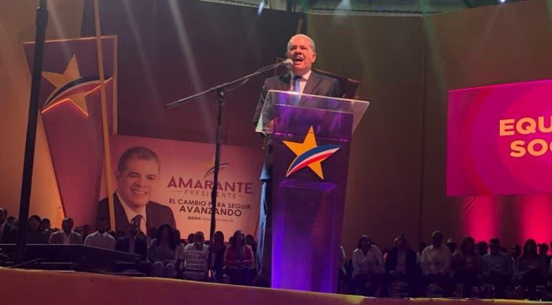 Carlos Amarante desafía a Leonel Fernández: «Que quede claro, voy a domar al león»