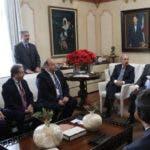 Danilo Medina con inversionistas