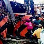 El descarrilamiento del tren cobró dos vidas