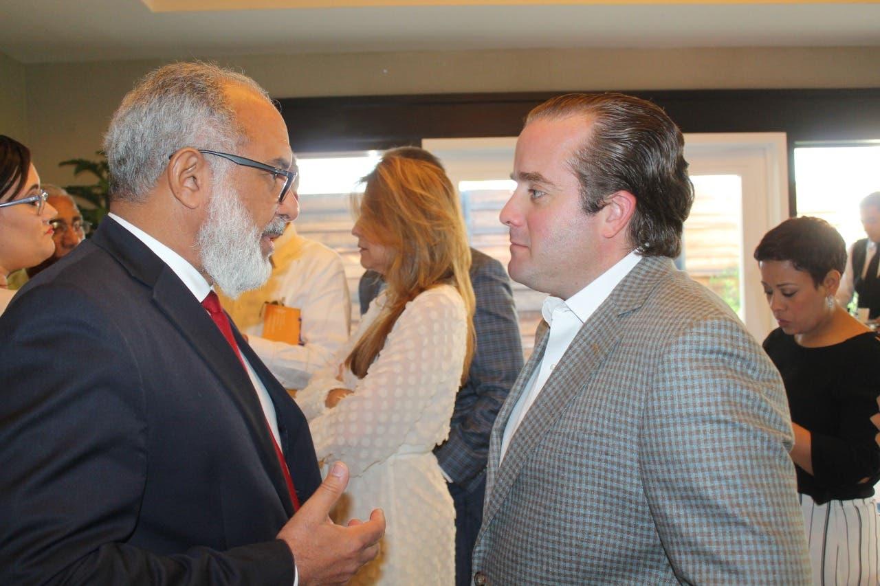 José Ignacio Paliza y Carolina Mejía perfilan presente y futuro del PRM