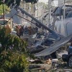 Explosion de POLYPLAS Dominicana.  Hoy/Cortesia de Kendrick Melo 5/12/18