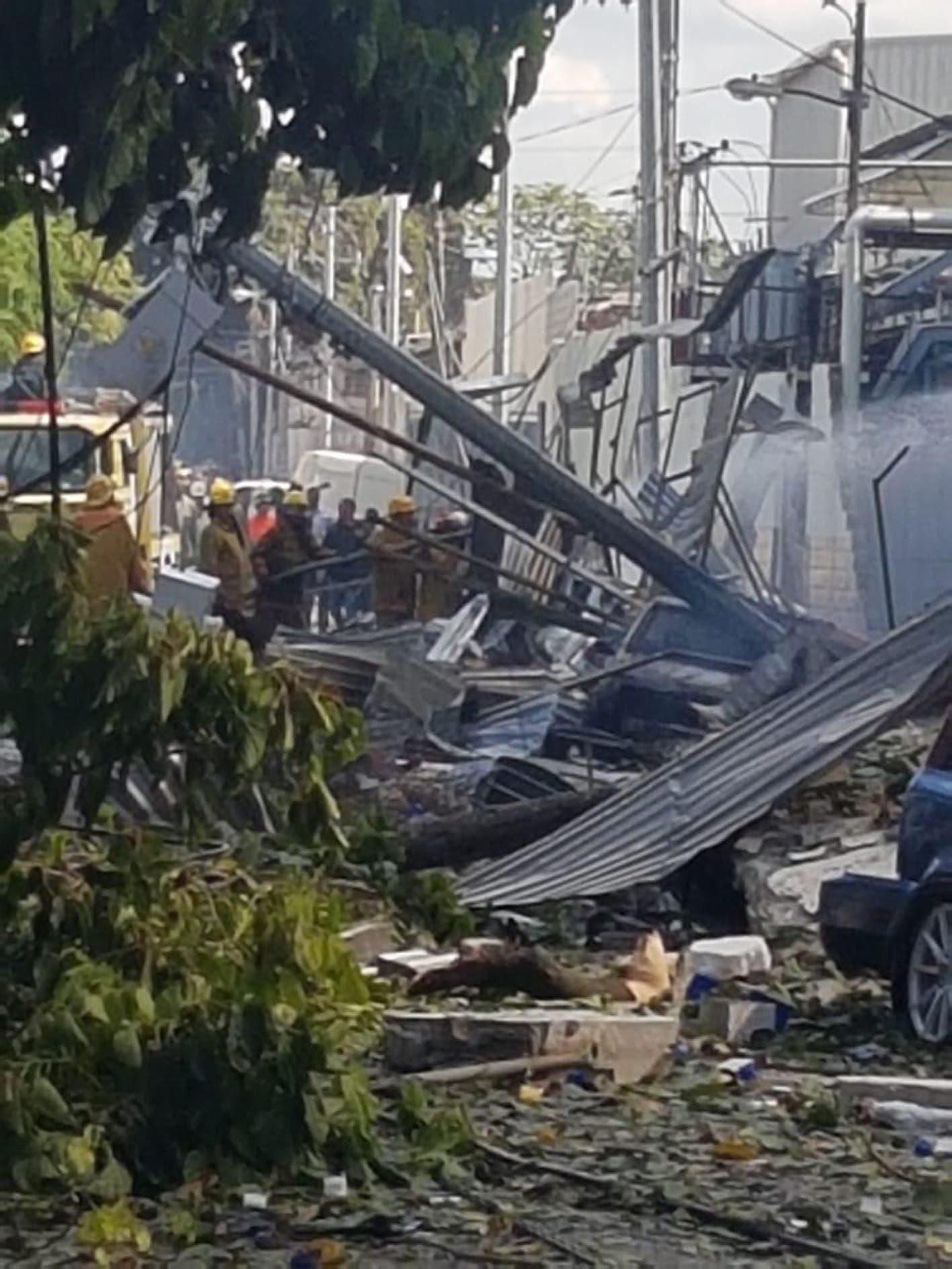 Listado oficial de los heridos tras explosión en Polyplas en Villas Agrícolas
