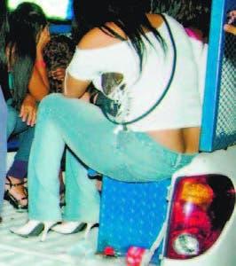 MP rescata 33 mujeres  de bares y apresa a 4
