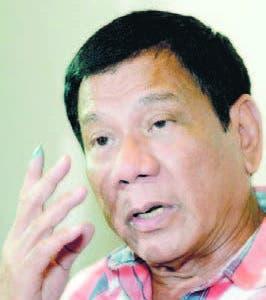 Presidente Rodrigo Duterte
