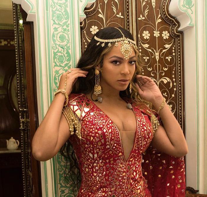 Así lució Beyoncé en boda de la hija del hombre  más ricos de la India