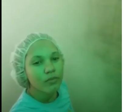 """Video: """"Parece que va a explotar pero no, es como una neblina"""", empleada de Polyplas que murió"""