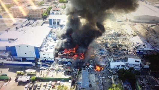 Se teme que puedan producirse nuevas explosiones en Polyplas Dominicana