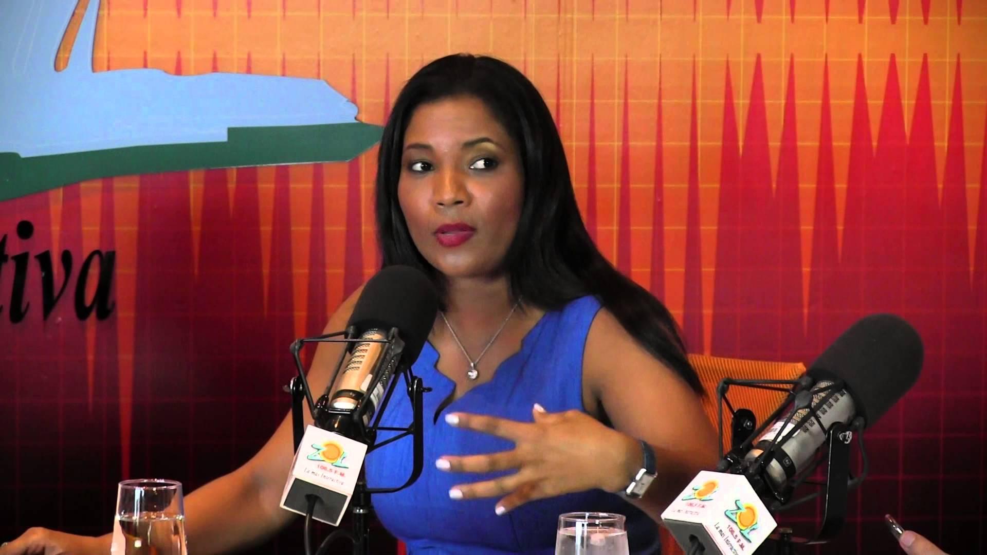 Anibelca Rosario relata cómo fue asaltada en la avenida Anacaona