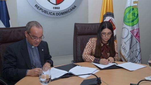 PUCMM y CONANI firman convenio por derechos de la niñez