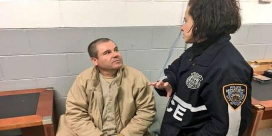 """Joaquín """"El Chapo"""" Guzmán se emociona al ver a sus hijas gemelas en el juicio en Nueva York"""