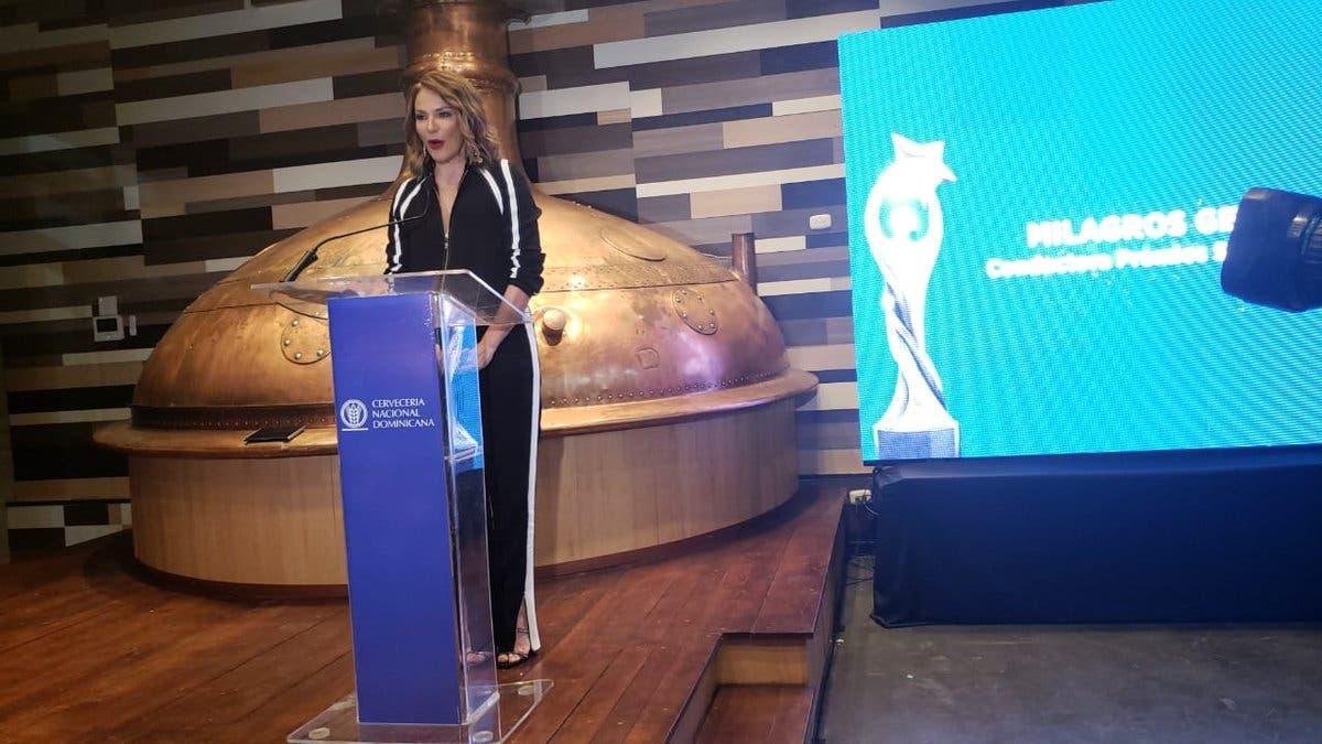 Milagros Germán será la conductora de Premios Soberano 2019