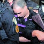 Aplazan medida de coerción contra Víctor Portorreal (Chamán Chacra) por asesinato de pareja e hijastros. 08-01-19 Foto: José Adames Arias