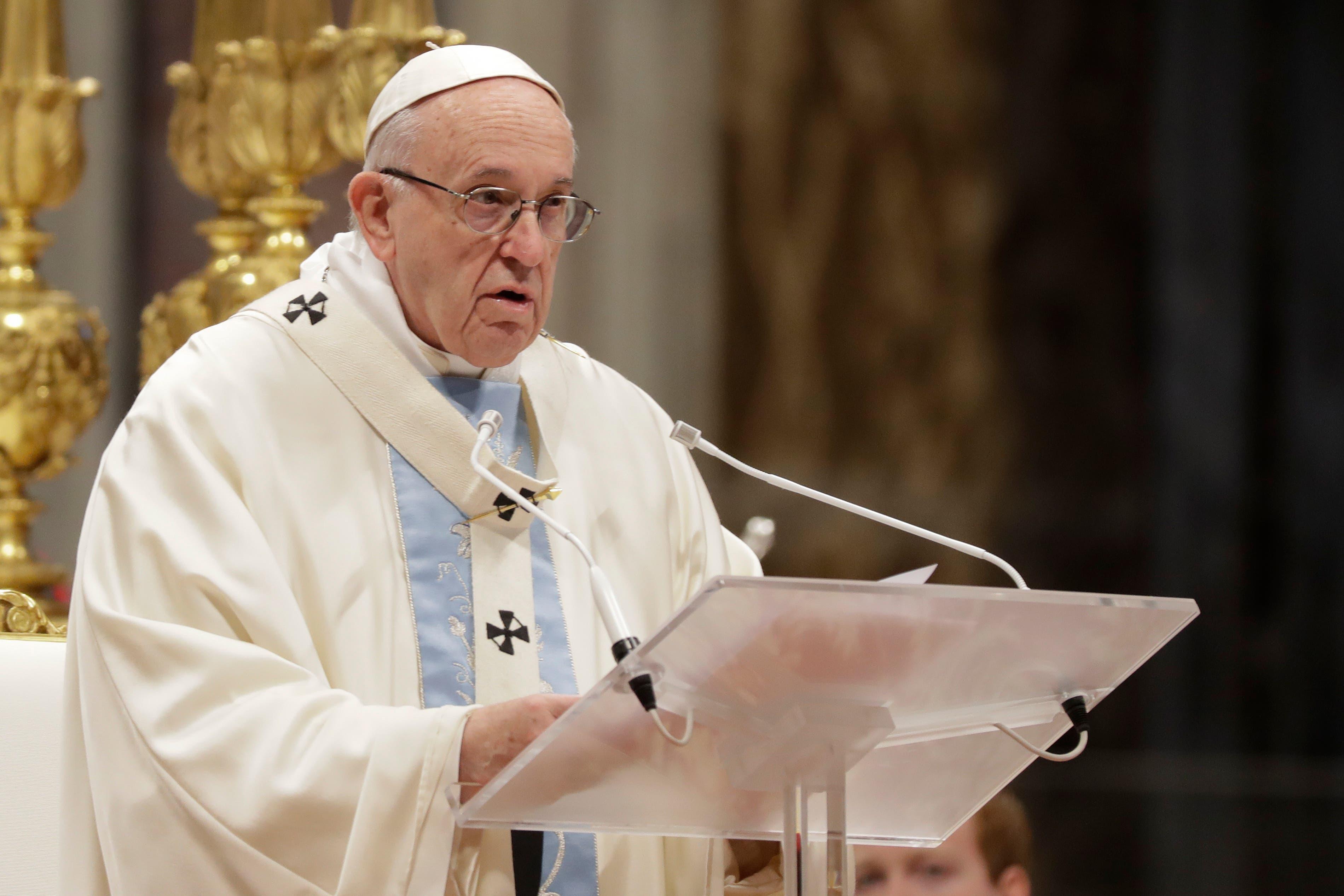 """El Papa Critica """"el dios dinero"""" que crea """"sociedades inhumanas e injustas»"""