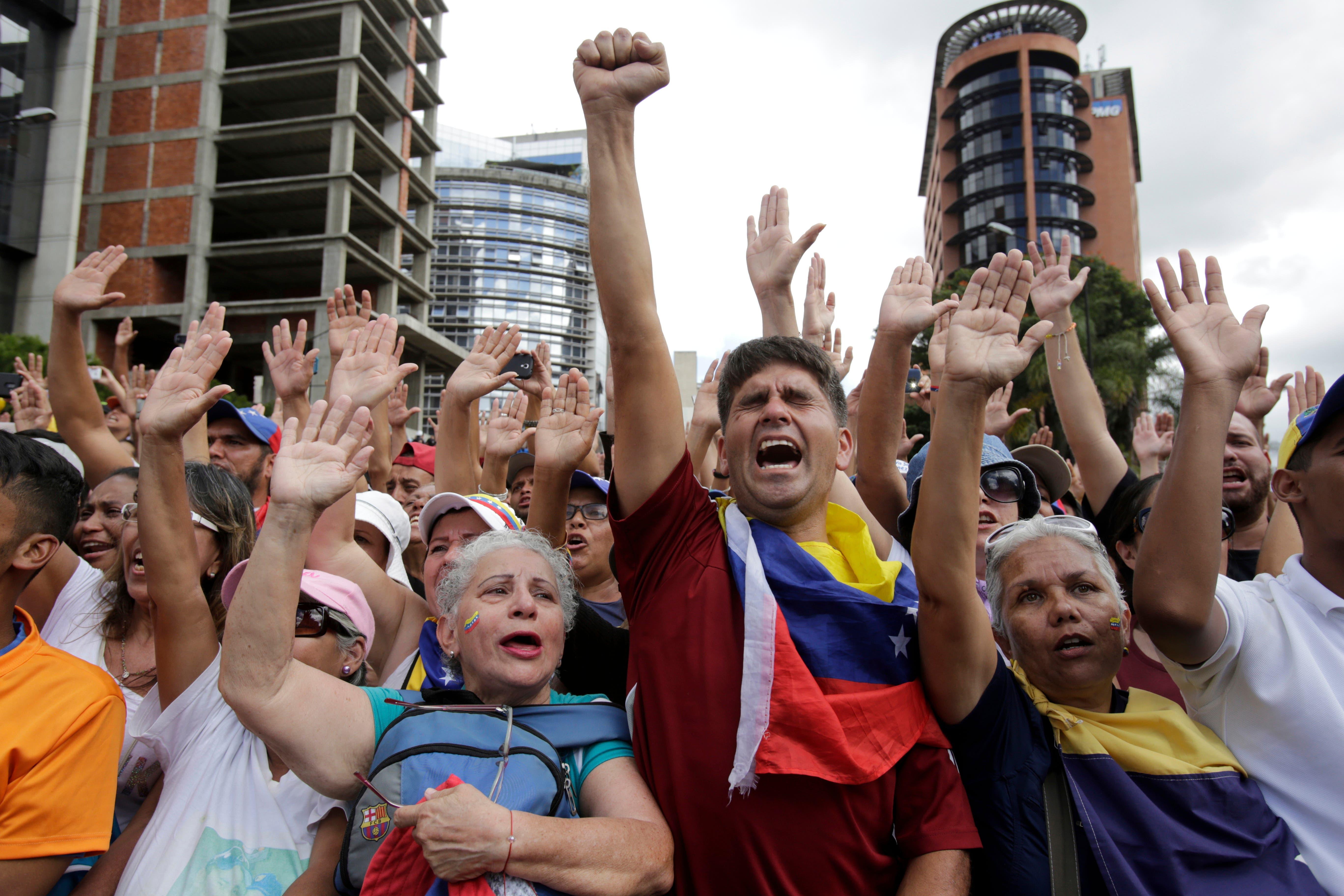 Venezuela: Van más de 40 muertos y 850 los detenidos en actos de apoyo a Juan Guaidó, según la ONU