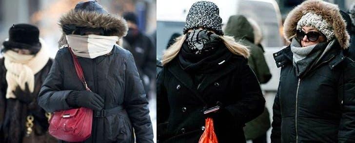 Anunciadas nevadas NY fueron débiles; pero el frío es ártico