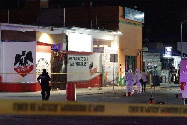Siete muertos en ataque a tiros en un bar en Playa del Carmen en México
