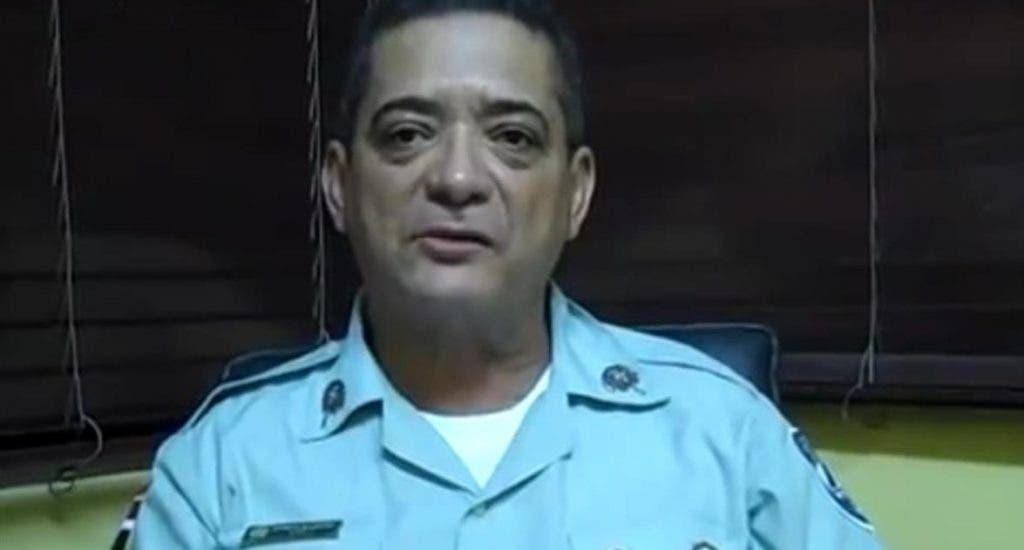 La Policía suspende fiesta por muerte del coronel Daniel Ramos Álvarez en Baní