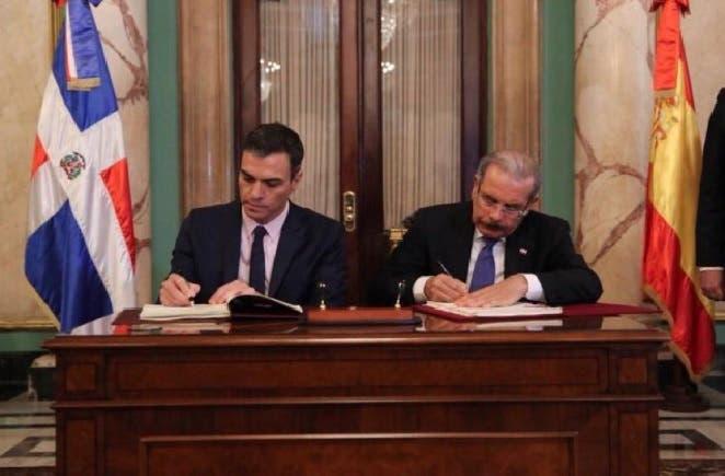 España y RD crean grupo trabajo para fortalecer relación económica