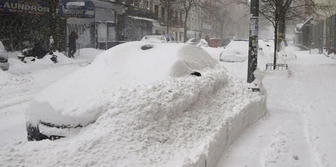 Anuncian hasta 20 pulgadas de nieve para Nueva York