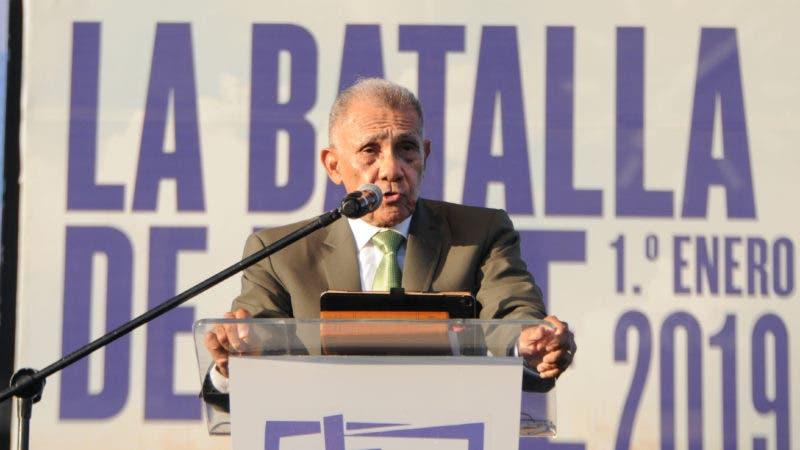 Concentración Evangélica Nacional Batalla de la Fe: José Adames Arias