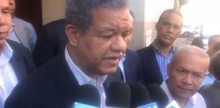 Leonel Fernández atribuye «oleaje» de violencia a un cambio en modelo del acto criminal