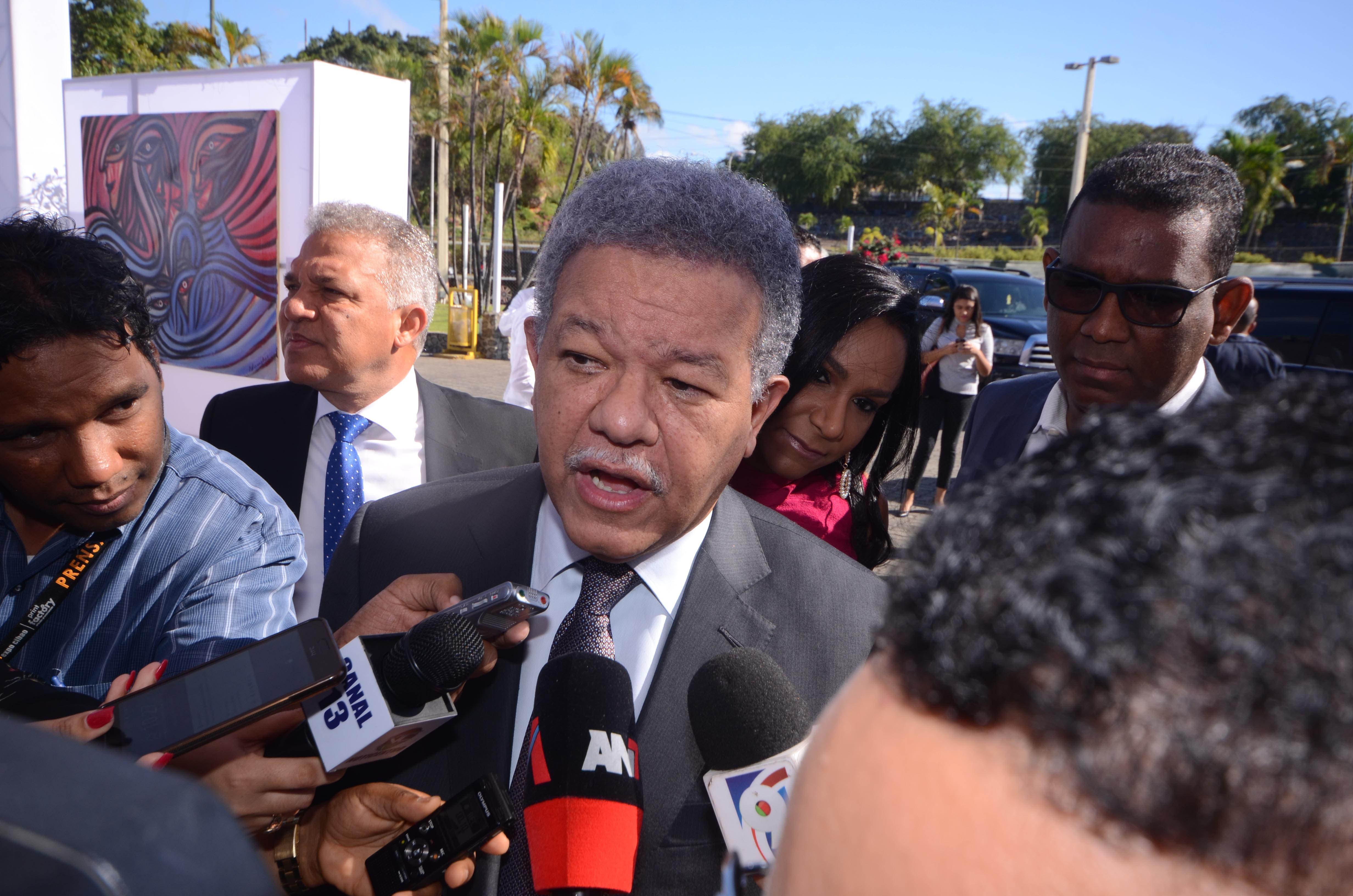 Leonel Fernández: Aceptamos la modificación en 2015 por unidad del PLD; ahora no es posible