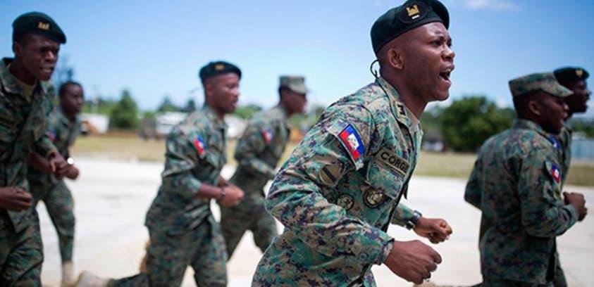 Haití da los pagos para construir Fuerza Armada moderna; recibirá colaboración militar de México
