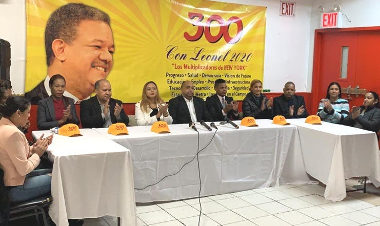 Movimiento político denunciará en EE.UU y Canadá campaña sucia contra Leonel