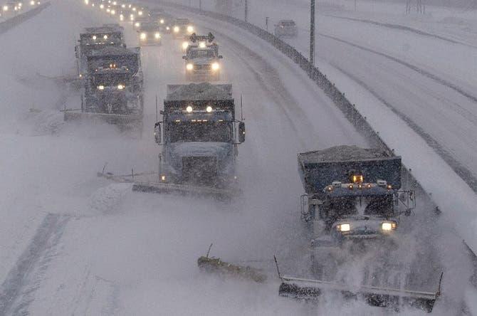 Nieve causa 12 muertes en Centro-Norte EE.UU.